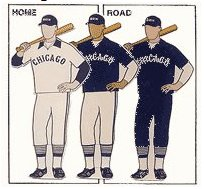 chicago white sox uniforms a1980
