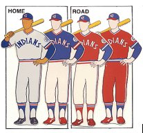 cleveland indians uniform 1980