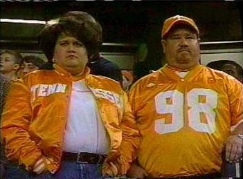 Is it unfair that Vol fans are stereotyped as illiterate rednecks? No.