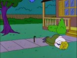 hans moleman hit by football