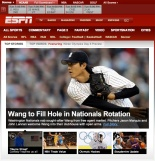 wang to fill hole espn headline