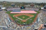 Even Dodger Stadium is beautiful on Opening Day.