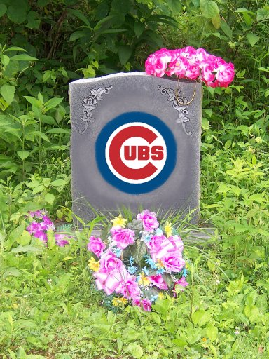 cubs grave marker