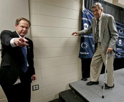 You know what they say, the cane always adds 20 years.