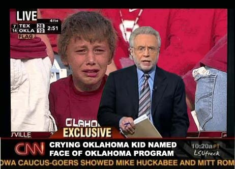 This is usually what an OU fan looks like after the Texas game.