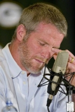 brett favre retire press conference