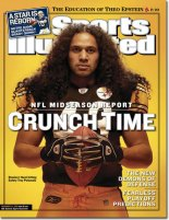 troy polamalu SI cover