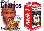 Tyson and LeBron go together like cereal and milk.