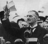 "Never forget the lessons learned from Neville Chamberlain's ""Worthless Piece of Paper."""