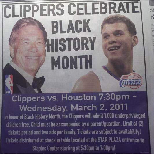 donald-sterling black history month