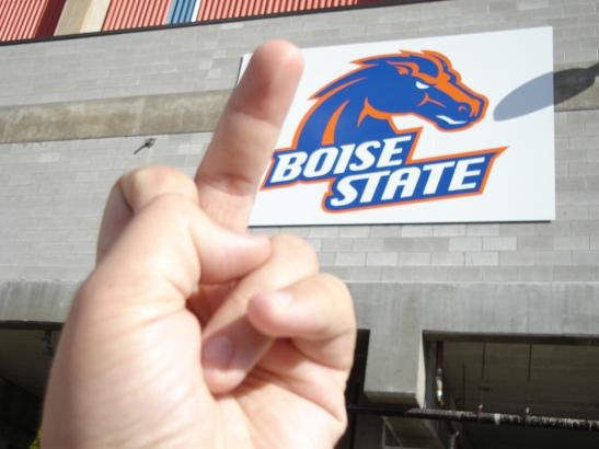 boise state finger
