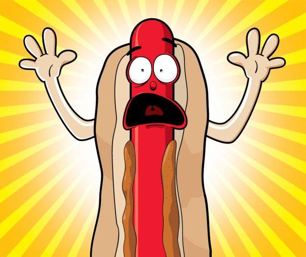 Wienerschnitzel Hot Dog Guy