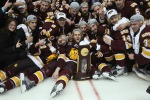 umd hockey celebration
