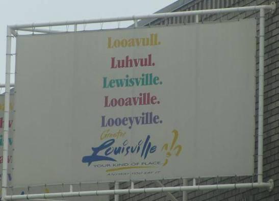 Louisville sign