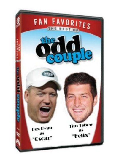 odd couple tebow ryan