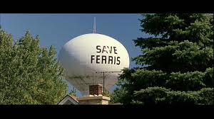 ferris bueller water tower