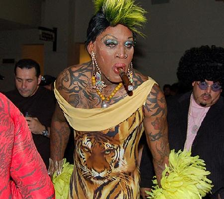 rodman looked normal
