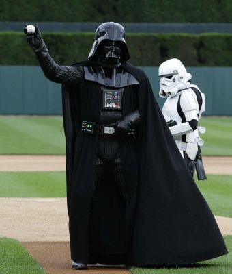 Even the minor-league team on Tatooine gets better stars.
