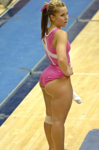 gymnast ass