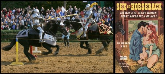jousting and sex