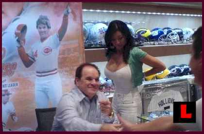 pete rose with kiana kim