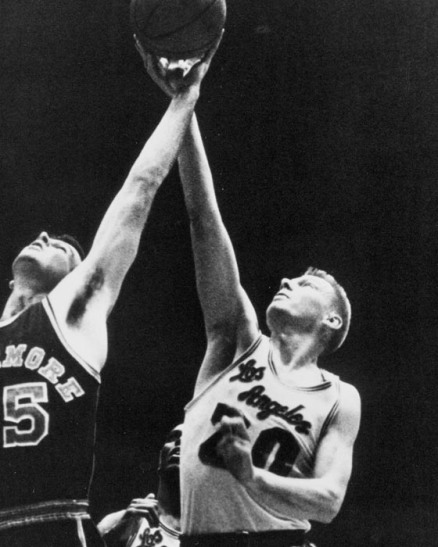 1965 file photo of Lakers Don Nelson.