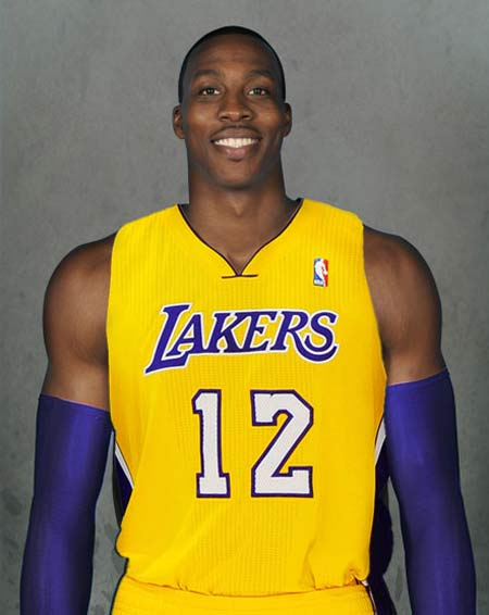 dwight howard as laker