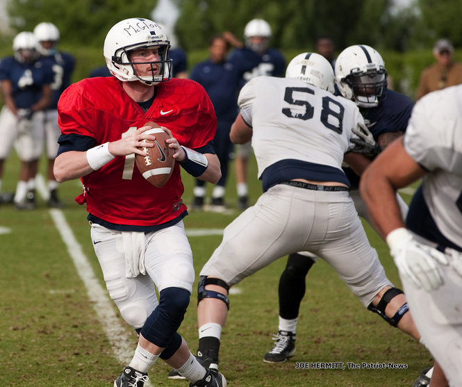 The Silver Lining: getting rid of Rob Bolden means the quarterback job is all Matt McGloin's.