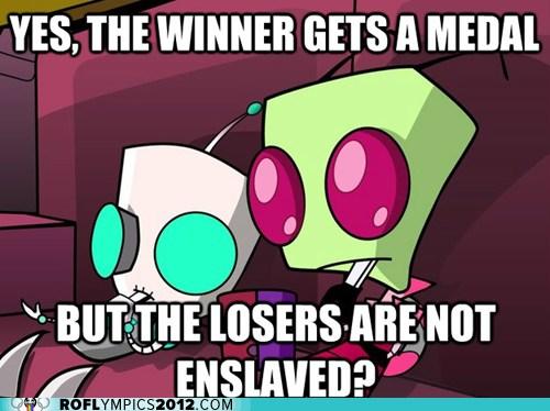 olympic enslavement meme
