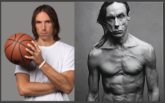 steve nash iggy pop