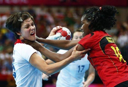 team handball choke