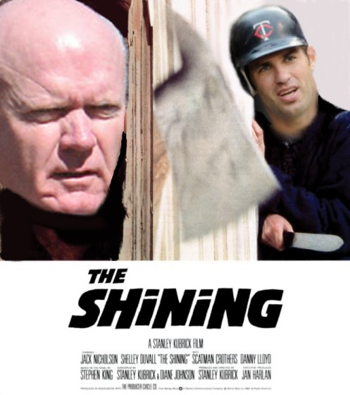 The Shining Terry Ryan Joe Mauer