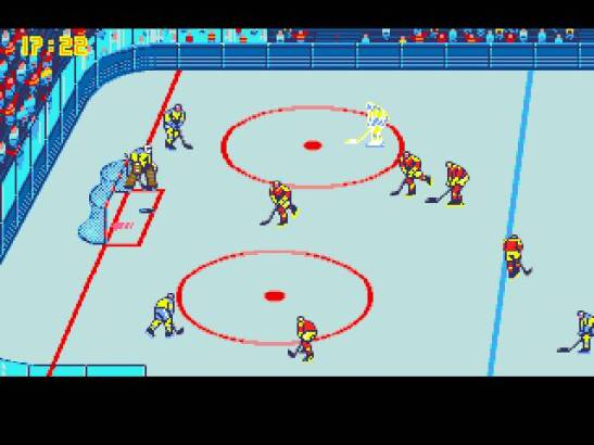 Blades of Steel was awesome, but cheering for any video game is a cry for help.