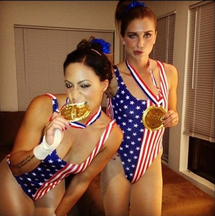 alex morgan as mckayla maroney