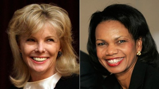 darla morre and condoleeza rice