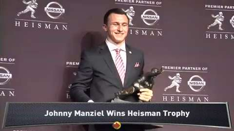 johnny manziel heisman winner