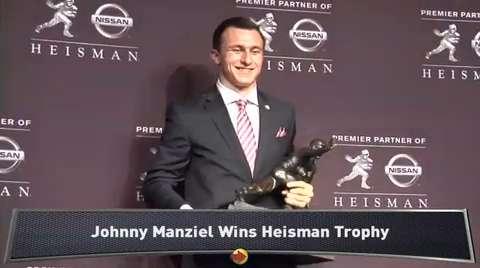 johnny manziel heisman winner