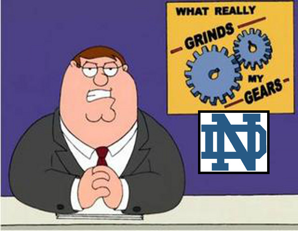 grinds my gears notre dame