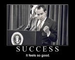 nixon success demotivational