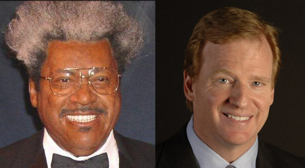 don king roger goodell