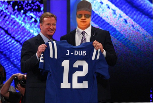 JW and Goodell draft