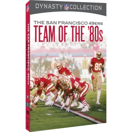 sna francisco 49ers team of the 80s video