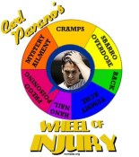 carl pavano wheel of injury