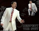 rick pitino white suit