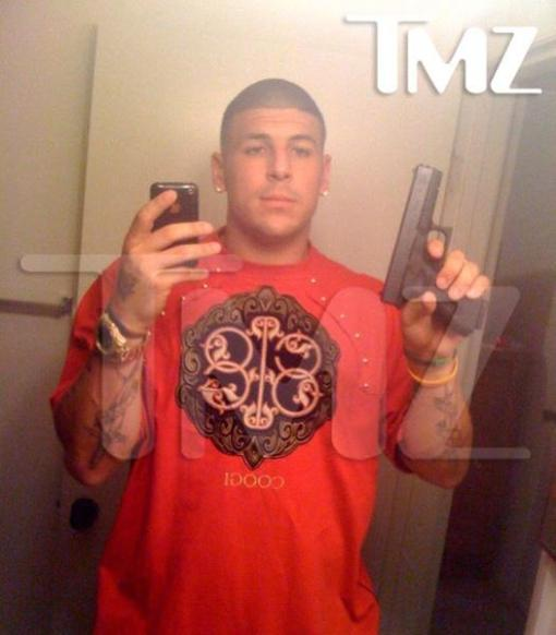 This picture probably had as much to do with Hernandez getting released as the murder charge did.