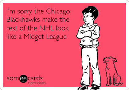 chicago blackhawk some ecard