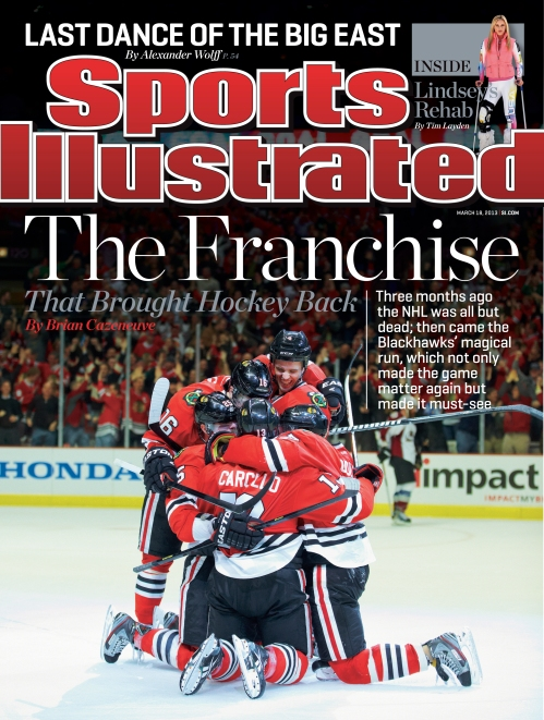 chicago blackhawks si cover
