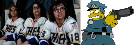 hanson brothers chief wiggum