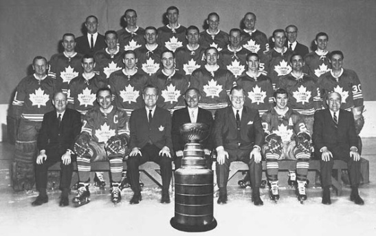 To make the Maple Leafs look like a play-off team, you either need to set your time machine for 1964 or let them face the Bruins.