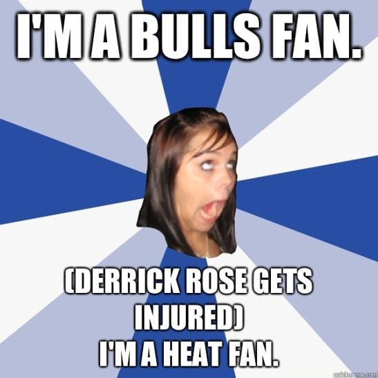 derrick rose heat fan meme